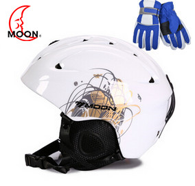 MOON Ski Helmet Ultralight Integrally-molded High Quality Professional Snowboard Skateboard Helmet Men Women Multi Colors ski go мазь держания ski go lf