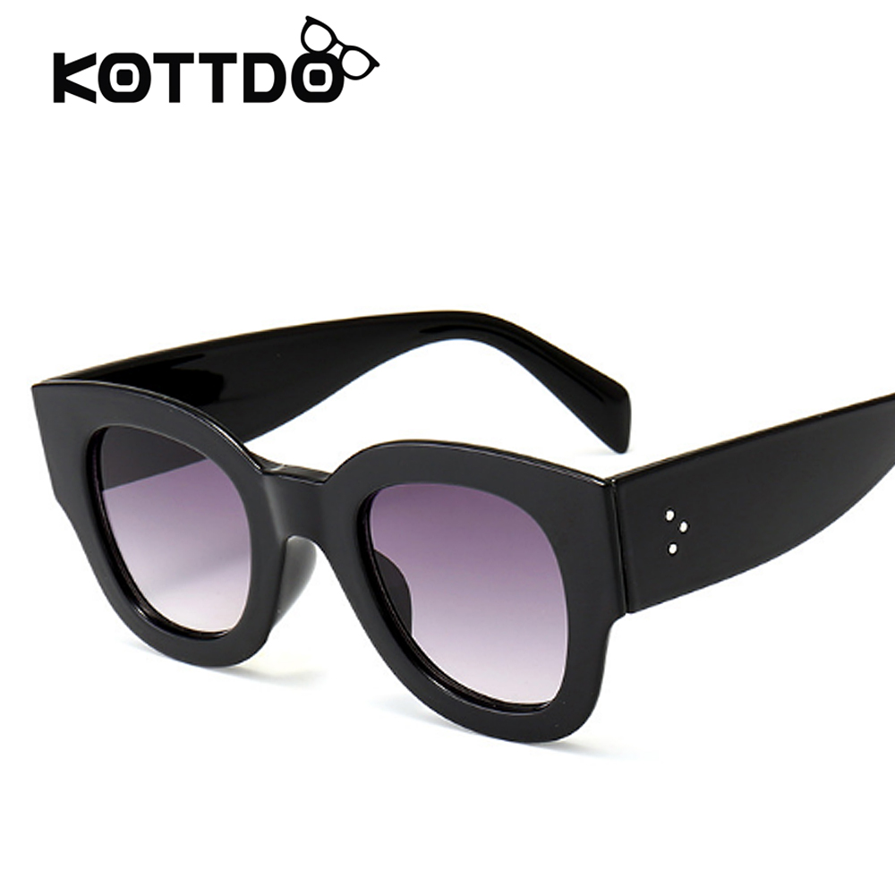 Cat Eye Sunglasses Women Brand Designer Vintage Retro Luxury Transparent Female Sun Glasses Women Sunglass Lunettes de soleil