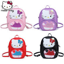 2019 Hello Kitty Mouse Bag Children Girls School Backpack Cute Kids Boy New PU Cartoon Kindergarten Bags