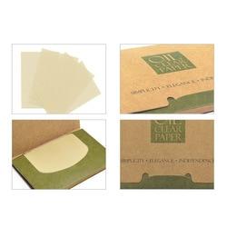 100 листов/косметические салфетки в упаковке бумага s зеленый чай запах для снятия макияжа масло поглощающая бумага для лица впитывает очист...