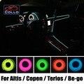 Гибкий Неон Холодный Свет/9 М EL Провода Для Daihatsu Altis/Copen/Terios/Be-go/Terios Эко/Консоль Автомобиля Декоративные газа
