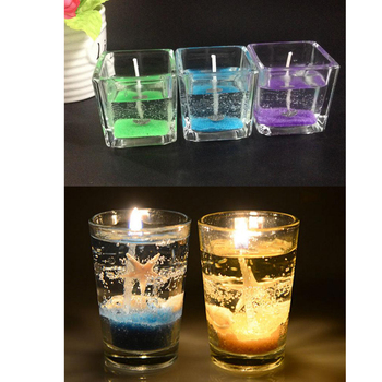 600g Clear Jelly Candle Making Gel Wax Transparent DIY Candles Making Supplies Тахеометр