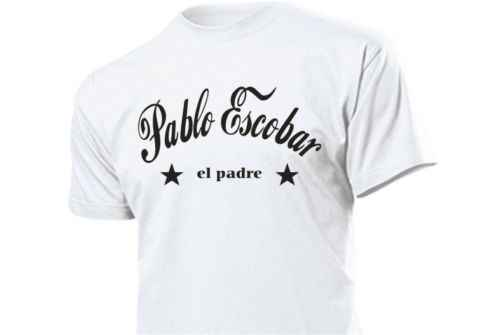Pablo Escobar El Padre T-Shirt Fun Shirt Size 3-5XL Cartel  Cool Casual pride t shirt men Unisex New Fashion tshirt Loose Size
