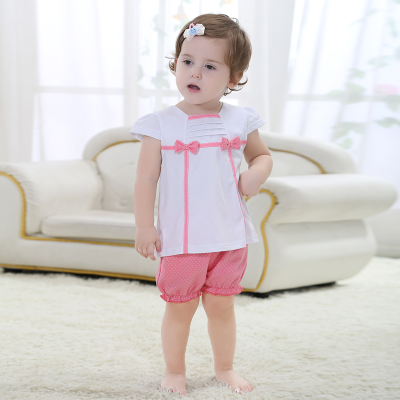 c241f8ae0d4b Happy Easter Gift Summer Baby Clothing All For Children Clothing Bebe Girl  Clothing Top T Shirt Trousers Pants Home Wear -in Clothing Sets from Mother    ...