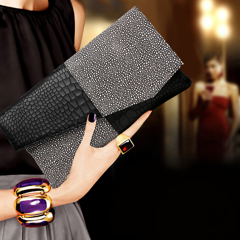 2017 New Genuine Leather Handbag Women Evening Bags Ladies Wedding Party Bag Clutch Diamonds Purses Designer Chain Shoulder Bag 2017 women bag cowhide genuine leather fashion folding handbag chain shoulder bag crossbody bag handbag party clutch long wallet