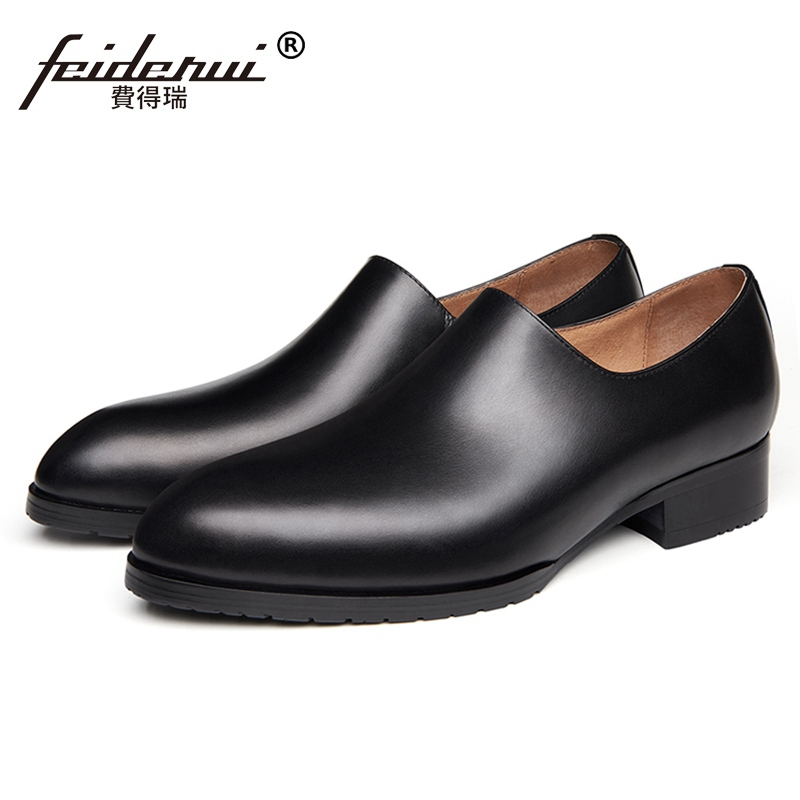Italian Designer Handmade Man Casual Platform Shoes Genuine Leather Comfortable Loafers Formal Dress Mens Handmade Flats SS416Italian Designer Handmade Man Casual Platform Shoes Genuine Leather Comfortable Loafers Formal Dress Mens Handmade Flats SS416