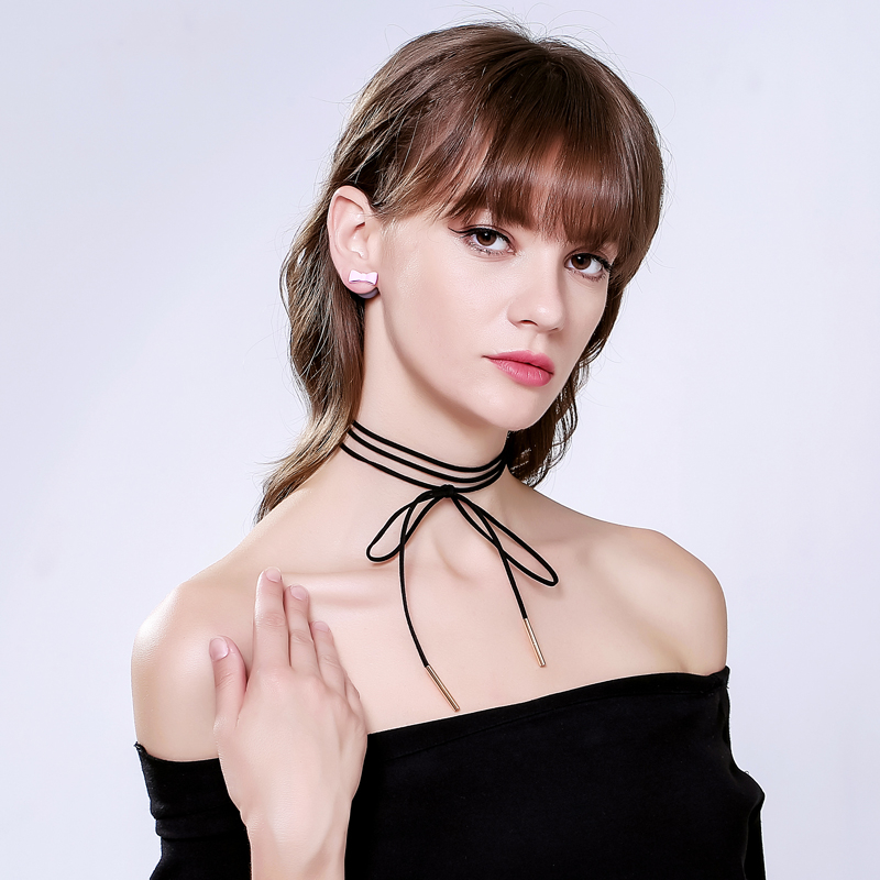 Geometric-Charm-Choker-Necklace-Black-Lace-Leather-Velvet-Strip-Women-Collar-Party-Jewelry-Neck-Accessories-Chokers