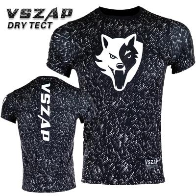 VSZAP NOISE Compression T-Shirts MMA Rashguard Short Sleeves Quick Dry Base Mens