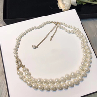2019 Hot C brand new fashion jewelry Elegant and generous pearl necklace for women Free Shipping