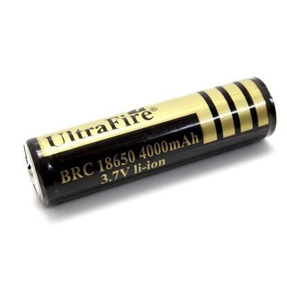 BRC 18650 3.7 V 4000mAh Capacity Li-Ion Battery for LED Flashlight Battery/ gimbal battery singfire brc 3 7v 18650 2400mah li ion battery for flashlight blue white 2 pcs