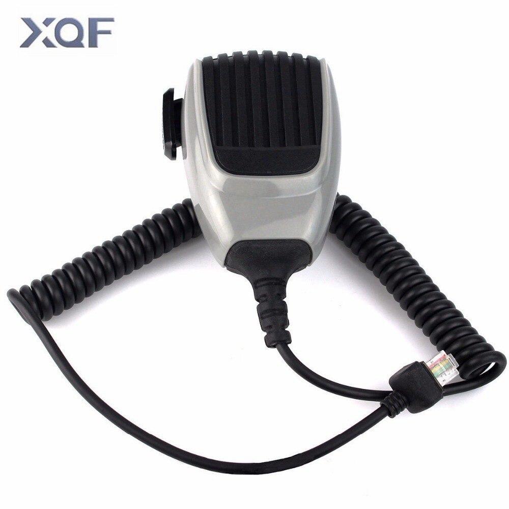 Heavy Duty Mic 6 Pin PTT Microphone For ICOM Mobile Radio F6011 F5011 F1721 F221 F121 As HM-148G