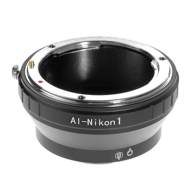 Anillo adaptador de lente de enfoque infinito para Nikon F AI S montaje a Nikon 1 V1 V2 V3 J2 J3 J4 J5 Cámara
