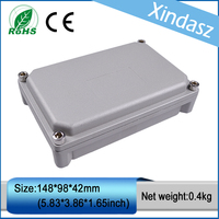 XD FA58 1pcs in stock IP66 water proof cast aluminum box aluminum die casting enclosure 148*98*42mm|ip66 rated|ip66 standard|enclosure electronic -