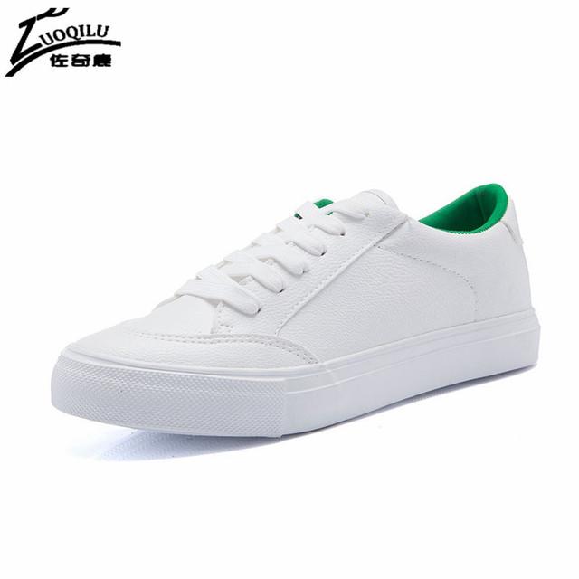 Marca Primavera Otoño Mujeres Blanco Zapatos de Mujer Pisos 2017 Mujeres Zapatos Planos Respirables Tenis Esportivo Feminino Chaussure Femme