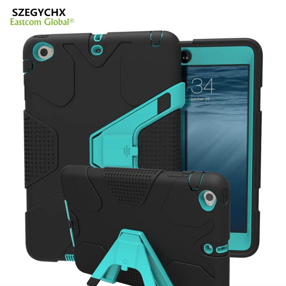 SZEGYCHXi tahvelarvutikott iPad 234 EVA raskeveokite löögikindla hübriidkummi jaoks vastupidava kaitsega nahale ohutu kestaga kaitseümbriseks