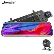 Jansite 10'' dash cam 1080P Touch screen car camera car dvr Micro SD/TF AV-Out Cycle Recording Night Vision  Dual Lens G-sensor стоимость