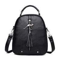 3 In 1 Backpack Women Leather Brand Female Shoulder Bag Sac A Dos Femme Multifunction Women Backpack Ladies Bagpack Mochilas
