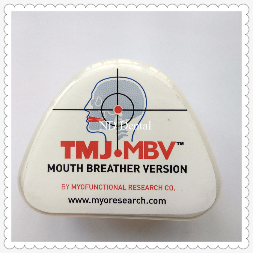 TMJ disorder trainer/Adult Dental Orthodontic Brace TMJ.MBV mouth breather trainer/Orthodontic Teeth trainer Appliance TMJ.MBV