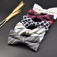 High Quality Men S Cotton Tie Double Flat Tie Han Edition Fashion To Marry The Groom