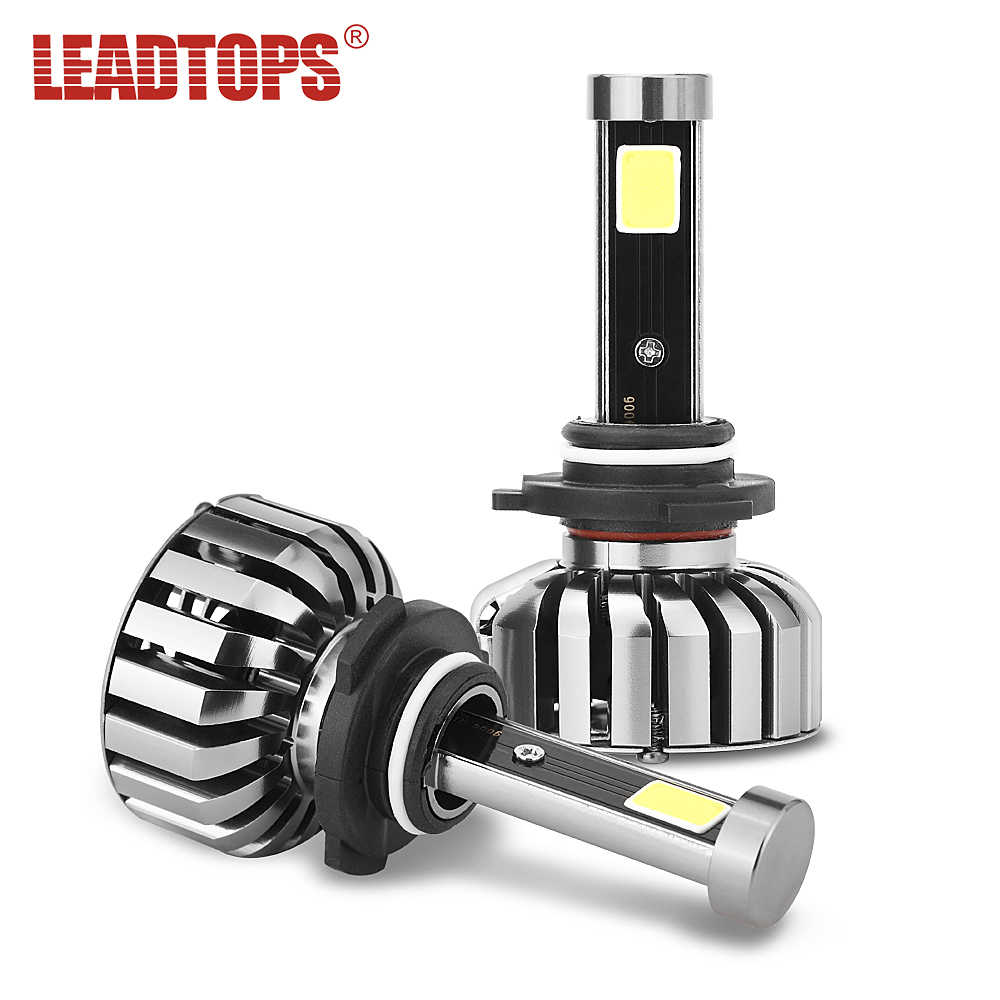 LEADTOPS Slim N7 LED Car Headlight Bulbs H4 H7 H11/H8 H1 9005 9006 H13 9004 H27 H3 80W 7200Lm 5500K Auto Headlamp cj