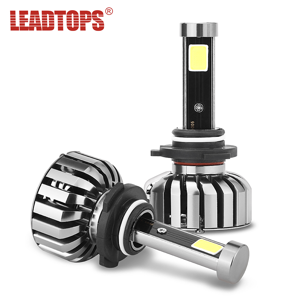 LEADTOPS Slim N7 LED Car Headlight Bulbs H4 H7 H11/H8 H1 9005 9006 H13 9004 H27 H3 80W 7200Lm 5500K Auto Headlamp cj|headlight bulb|bulb h4|h3 80w - title=