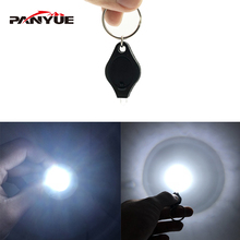 PANYUE 20PCS Super Mini LED Light Portable keychain Flashlight Outdoor Waterproof Keychain Torch Lamp Lights for gift
