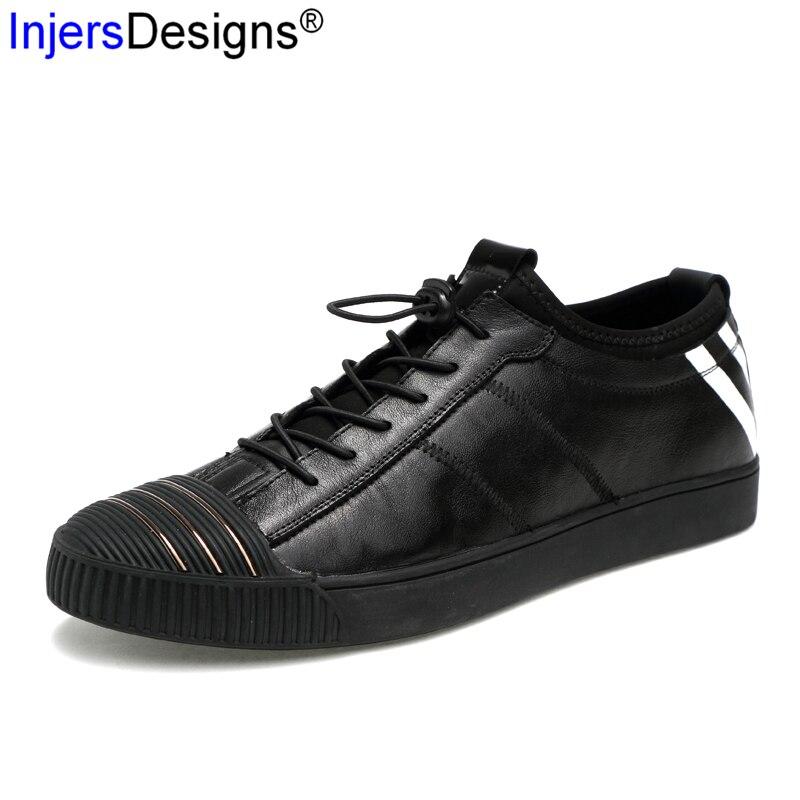 38 Elástica Hombre Tamanho Respirável Sapatilhas De Sapatos Black Fivela Tênis Skate Moda Homens Chegada 44 Novos Zapatos UYZwx1q7n