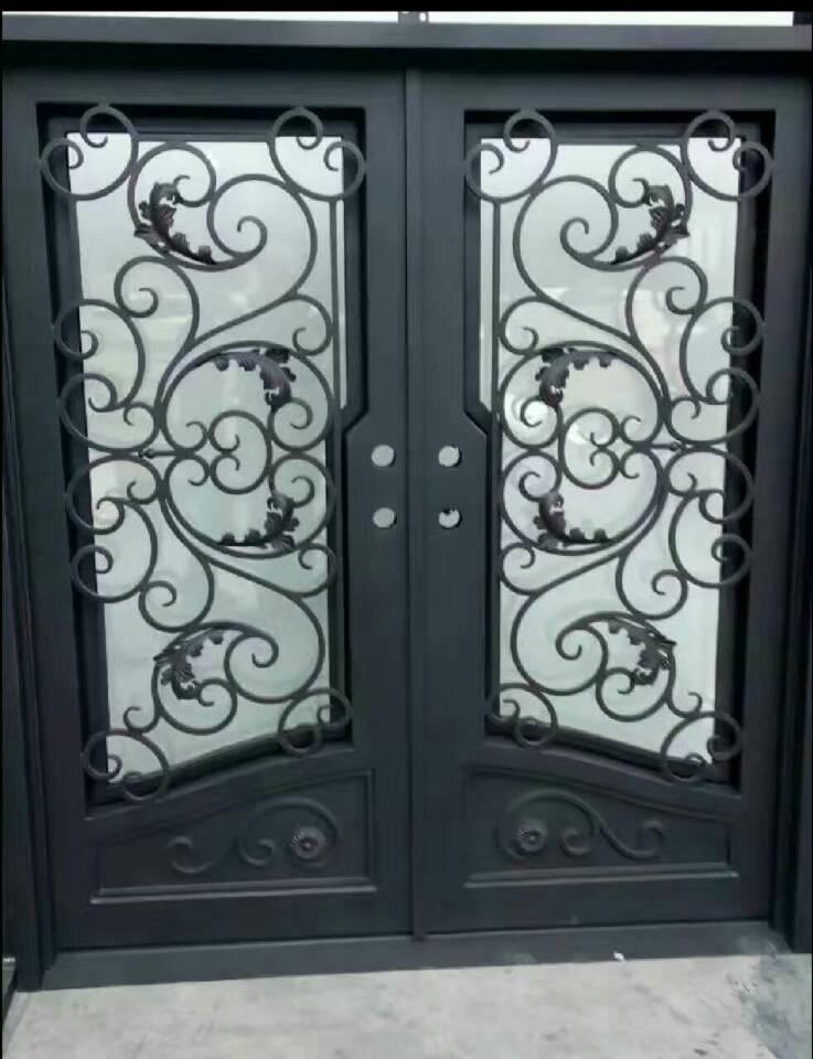 Hench 100% Steels Metal Iron Front Doors For Sale  Hc10