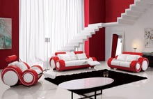 Red Leather Sofa Set Designs Genuine Sofa Set Designs And Prices 0414 18