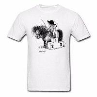 Summer Casual Printed T Shirt Men T Shirt Horse Show Winner Rostrum Fitness Casual T Shirt