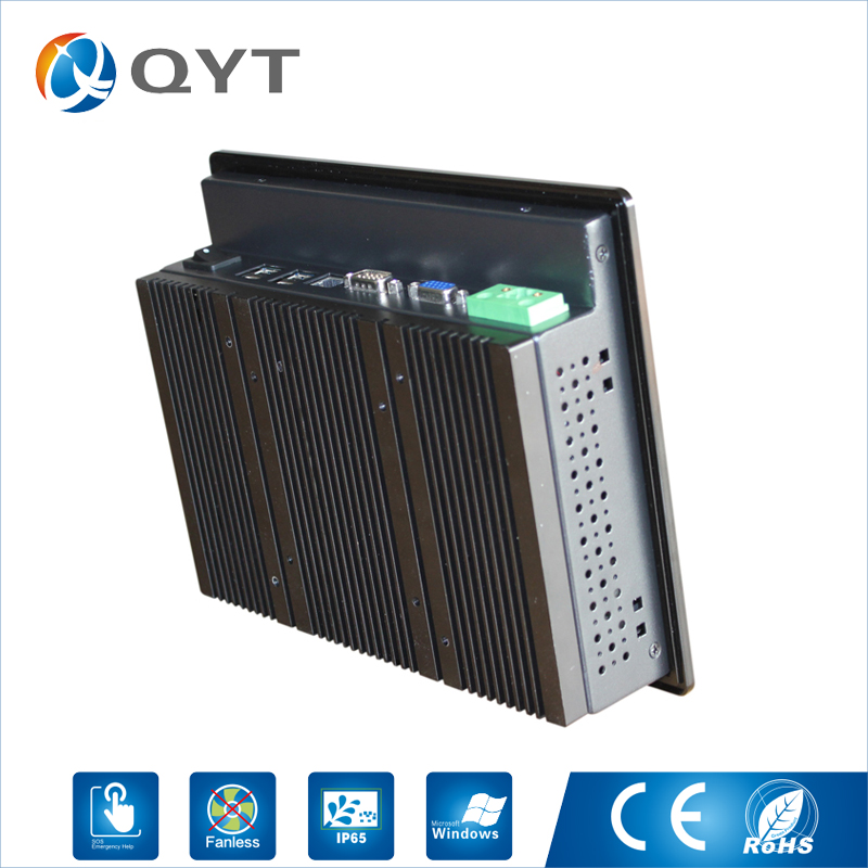 High Brightness Fanless Panel pc 8.4