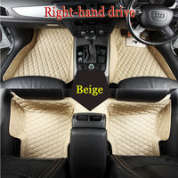 Custom Fit Car Floor Mats For Ford Edge Escape Kuga Fusion Mondeo Ecosport Focus Fiesta Car