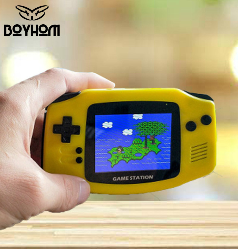 New Arrive Retro Portable Mini Handheld Game Console 8-Bit 3.0 Inch Color LCD Kids Color Game Player Built-in 300 games image