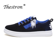 Thestron New Arrival Spring Autumn Lovers Casual Shoes Size 35-45 Comfortable Mens Canvas Fashion Skate For Couples