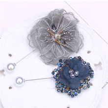 lace flower brooch luxury brooch crystal kpop pins gifts brooches for women pearl brooch jewelry collar pin glseevo natural lapis lazuli flower brooch pins and brooches for women accessories birthday gifts dual use luxury jewelry go0183