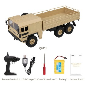 Image 5 - JJRC Q64 1:16 6WD telecomando camion militare sospensione off road del veicolo rc auto off road arrampicata auto
