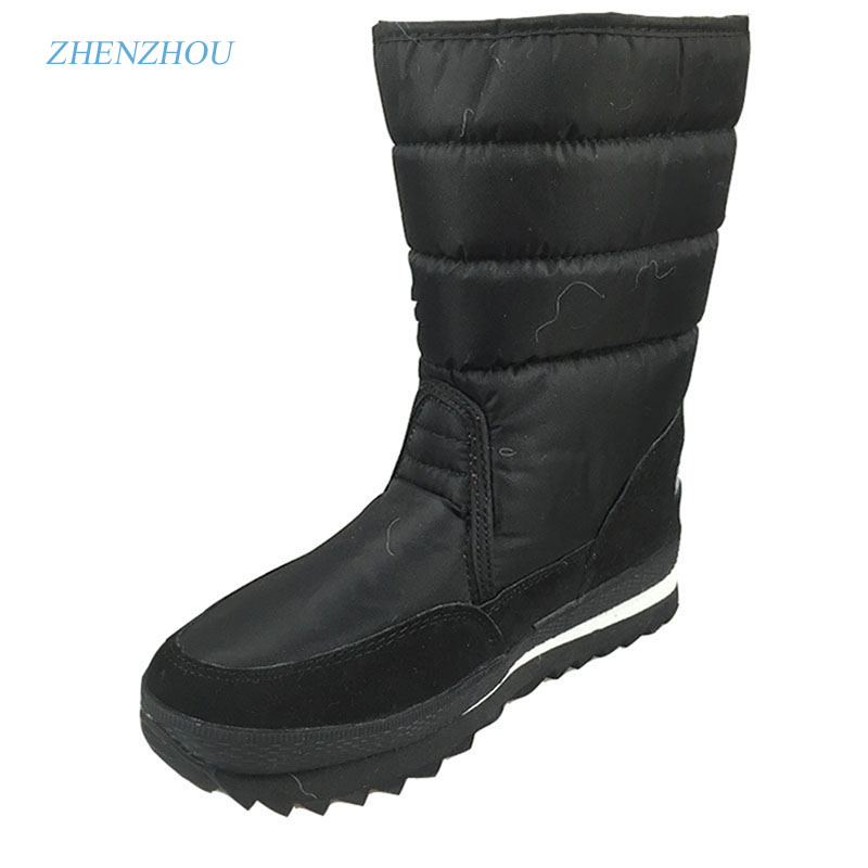 zhenzhou women Winter Snow Black Warm Boots shoes