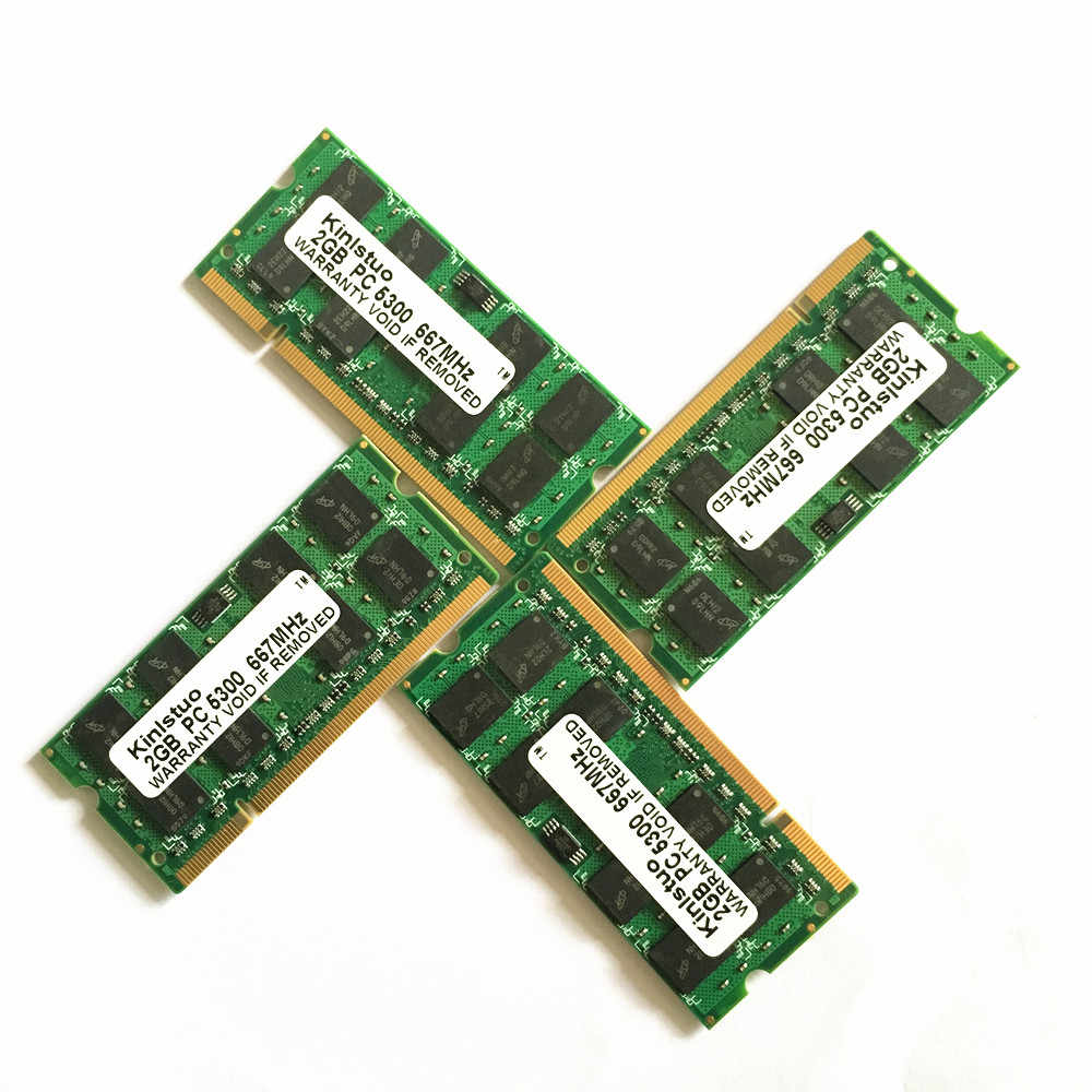 חדש מחברת ייעודי זיכרון 4 gb 2 gb 1 gb DDR2 800 PC2-6400 2 גרם DDR2 800 mhz sodimm מחשב נייד ram תואם עם R60 T60 T61P X61