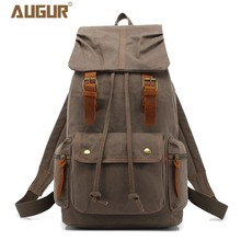 Купить с кэшбэком men women backpack vintage canvas backpack school bag men's travel bags large capacity travel backpack bag