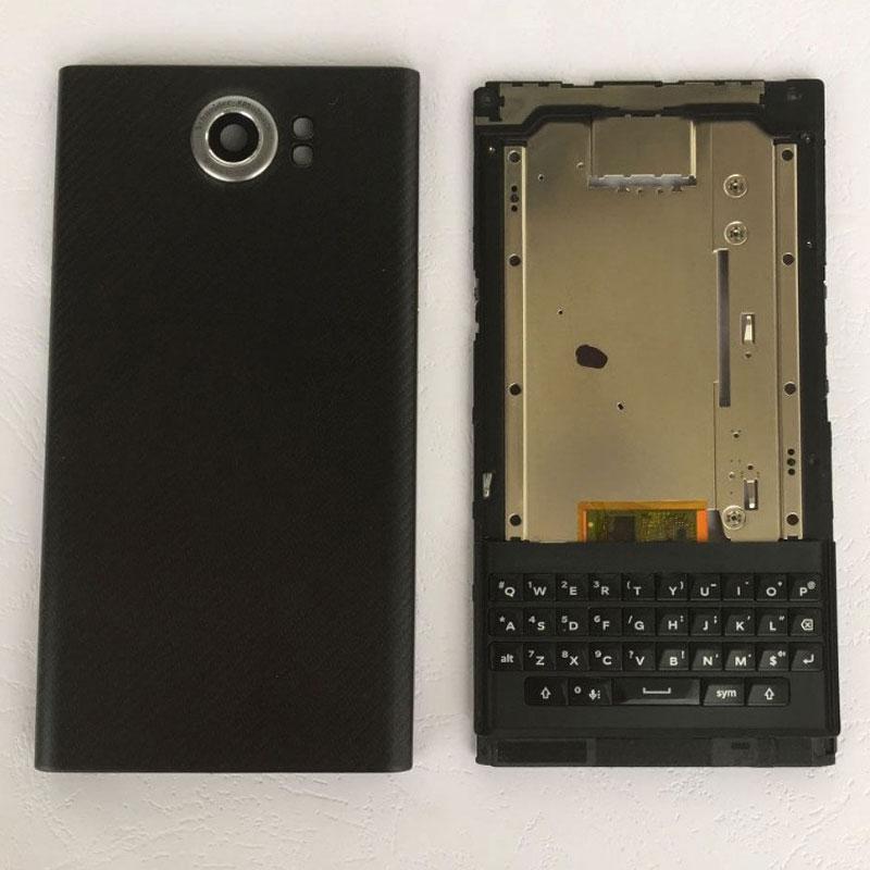 BINYEAE New For Blackberry Priv Battery Cover Rear Housing Back Case +Face Frame Front Bezel With Side Keys 후면 하우징 Средняя рамка(China)