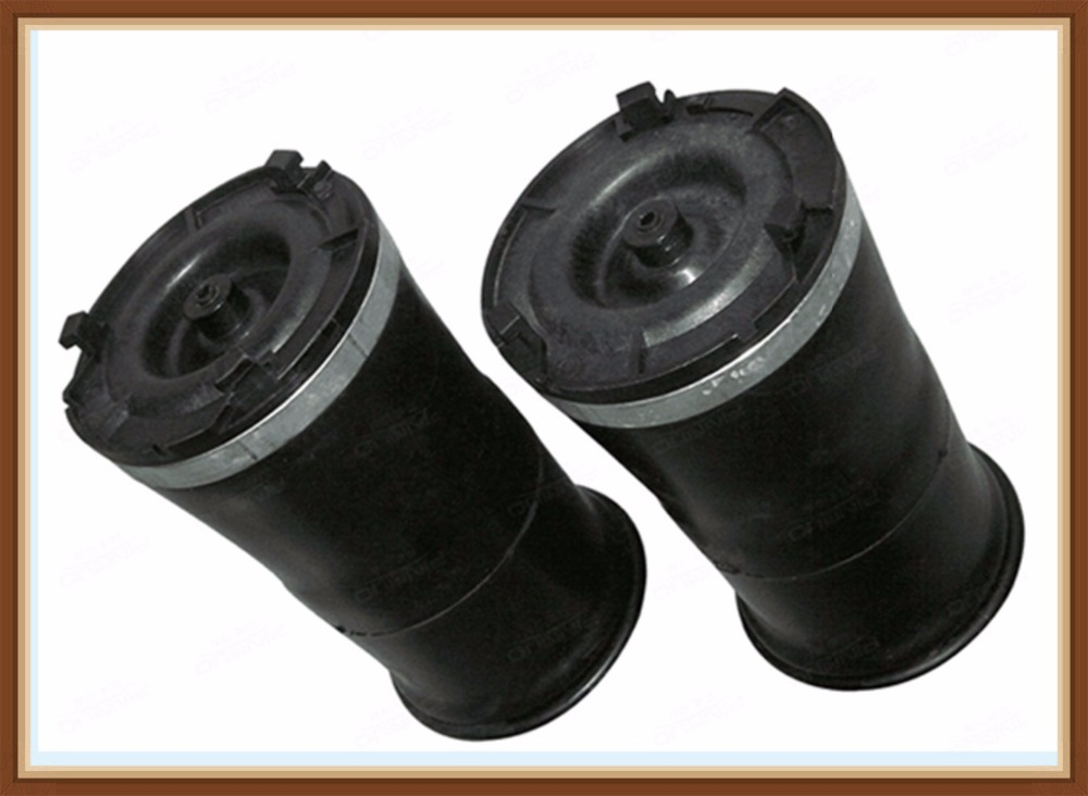 PAIR 2003 2009 Replaces FOR Hummer H2 Rear Suspension Air Spring Bag New Air Rubber Ride Pillow Bellow Sleev