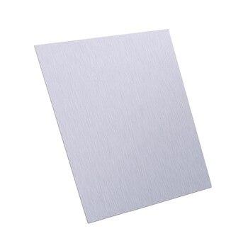 1 Placa de pc de Alta Pureza Folha De Zinco Zn Pura Folha De Metal Usado em Produtos Eletrônicos de Autopeças 100x100x0.5 milímetros