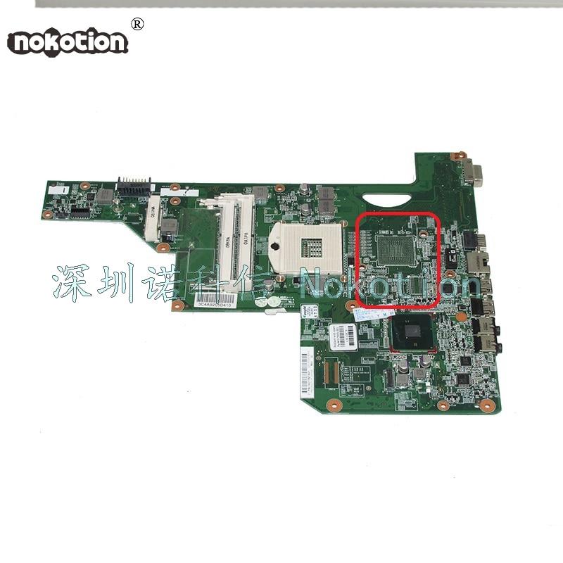 все цены на NOKOTION 615849-001 Laptop motherboard For HP G72 HM55 HD GMA DDR3 Main board Full test онлайн