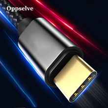 Oppselve USB Type C Cable For Xiaomi Redmi Note 7 USB-C Mobile Phone Fast Charge Type-C Samsung Galaxy S10 S9 S8 Plus