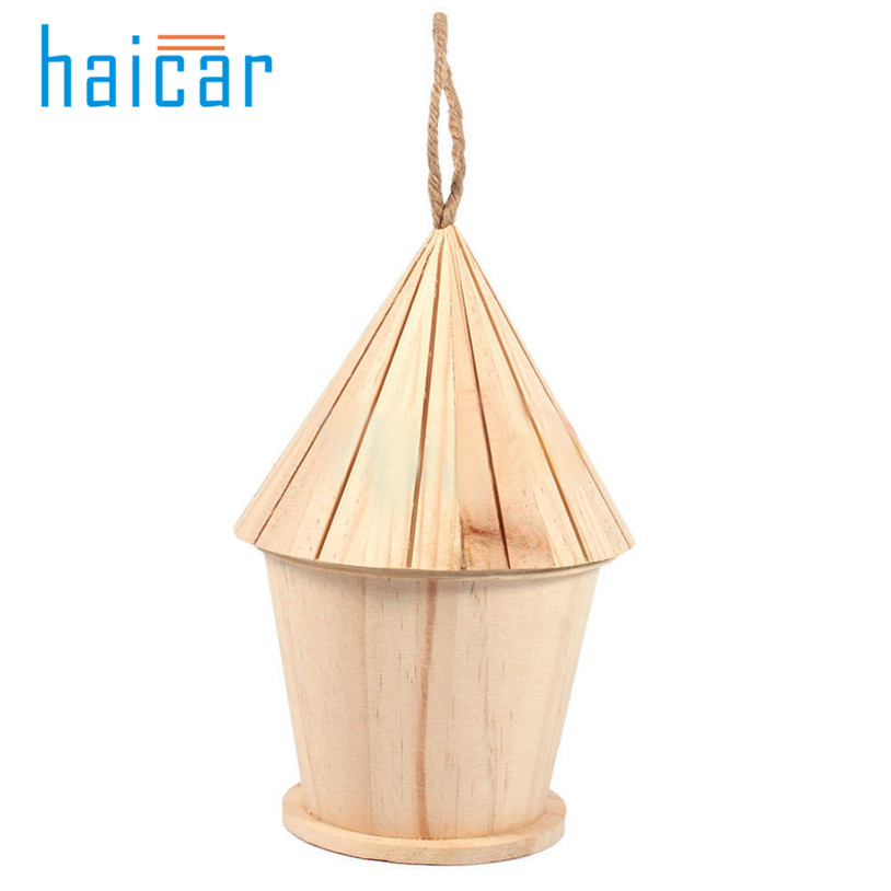 Wooden garden Bird Cages Nests bird house 1