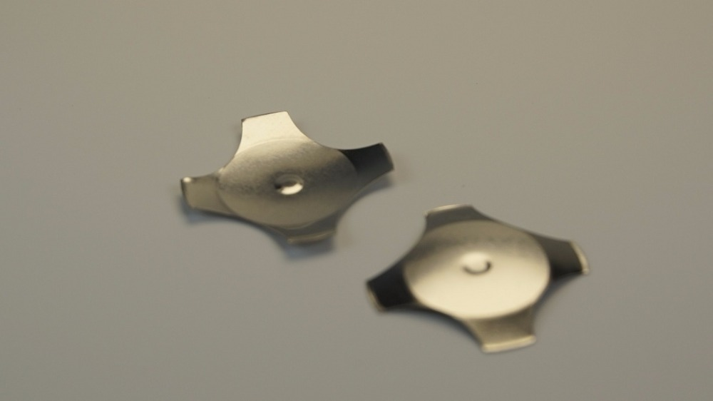 1000pcs 16 0mm Diameter cross type tactile metal domes center dimple 350 gf snap dome switch