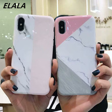Marble Case on sFor iPhone X XR Silicone Soft TPU Mix Colors Classic Matte Cover For 6 6S 7 8 Plus Xs Max Cases