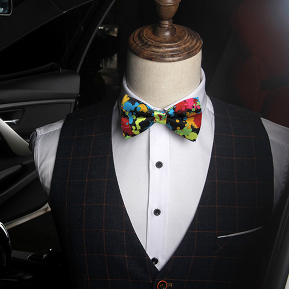 NEW FASHION MENS ADJUSTABLE POLYESTER WEDDING Groom PROM PARTY Suit  BOW TIE