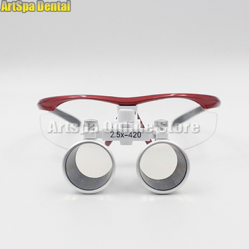 2.5X 420mm Dental Loupes Surgical Binocular Loupe dental Magnifier Glasses