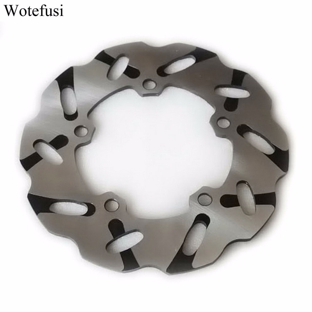 Wotefusi Motorcycle Wheel Rear Brake Disc Rotor For Yamaha YZF R1 04 05 06 07 08 09 10 R6 03 04 05 06 07 08 09 10 [MT62] motorcycle part front rear brake disc rotor for yamaha yzf r6 2003 2004 2005 yzfr6 03 04 05 black color